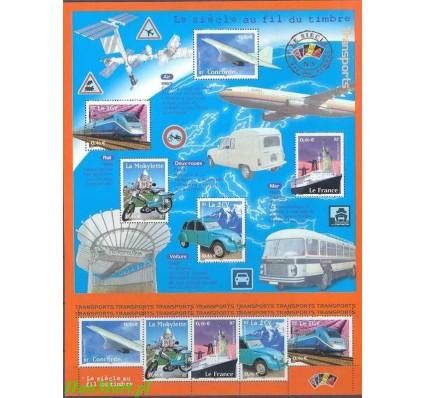Francja 2002 Mi ark 3608-3612 Czyste **