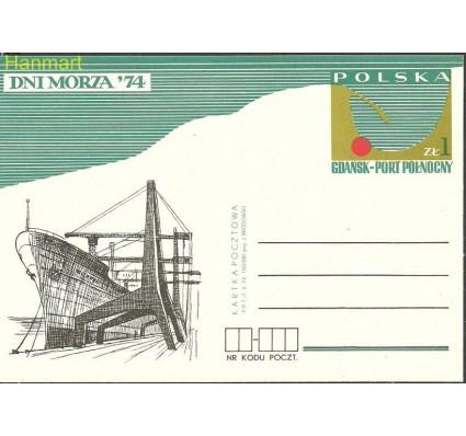 Znaczek Polska 1974 Fi Cp 606 Całostka pocztowa