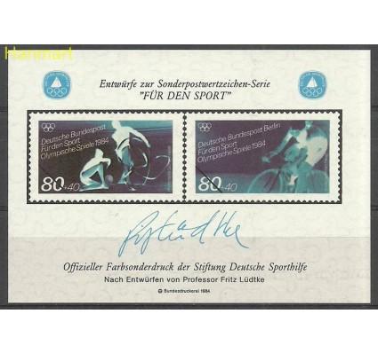 Znaczek Niemcy 1984 Mi abo1984gim+kol Czyste **