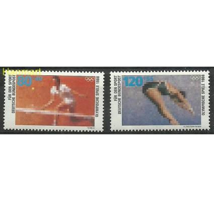 Znaczek Niemcy 1988 Mi 1354-1355 Czyste **