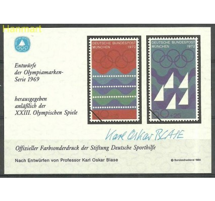 Niemcy 1984 Mi abo1976Monachium Czyste **