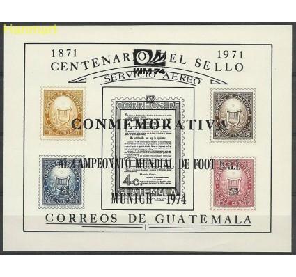 Znaczek Gwatemala 1974 Mi bl15a Czyste **