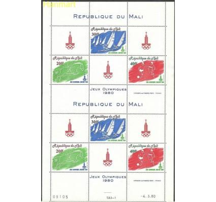 Znaczek Mali 1980 Mi ark755-757 Czyste **