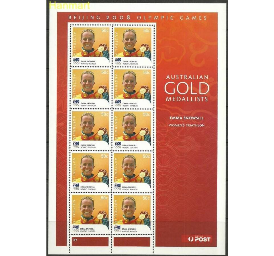Australia 2008 Mi ark3052-3065II Czyste **
