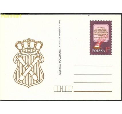 Polska 1974 Fi Cp 622 Całostka pocztowa