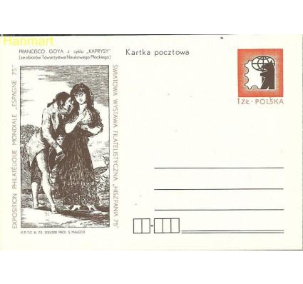 Znaczek Polska 1975 Fi Cp 628 Całostka pocztowa