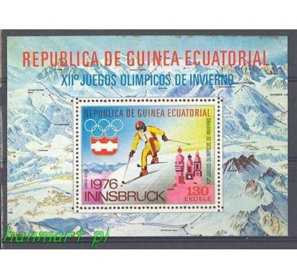 Gwinea Równikowa 1975 Mi bl 159 Czyste **