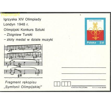 Znaczek Polska 1980 Fi Cp 749 Całostka pocztowa