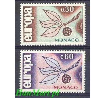 Monako 1965 Mi 810-811 Czyste **