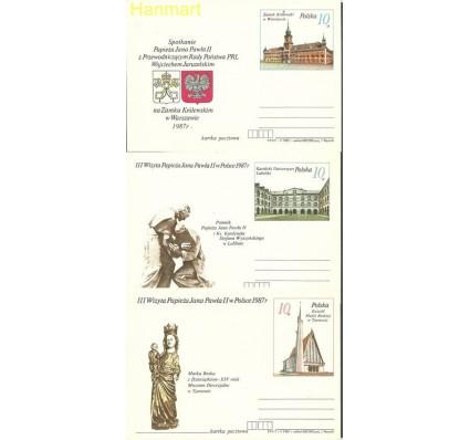 Znaczek Polska 1987 Fi Cp  950-958 Całostka pocztowa