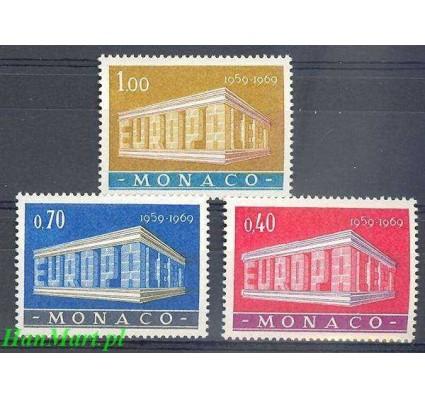 Monako 1969 Mi 929-931 Czyste **