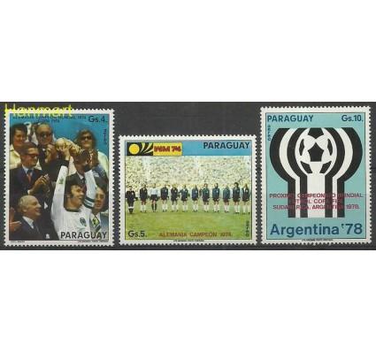 Paragwaj 1974 Mi 2609-2611 Czyste **