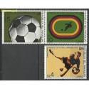 Paragwaj 1974 Mi par2583-2585 Czyste **