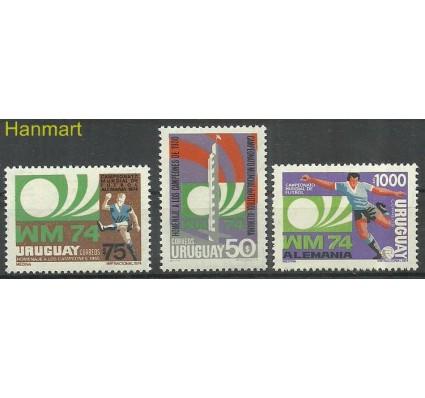 Znaczek Urugwaj 1974 Mi 1302-1304 Czyste **