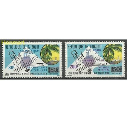 Znaczek Dżibuti 1980 Mi 271-272 Czyste **