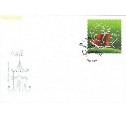 Znaczek Słowenia 2008 Mi 670 FDC