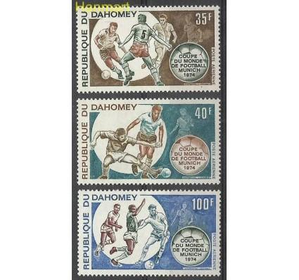 Znaczek Dahomej 1973 Mi 539-541 Czyste **