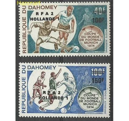 Znaczek Dahomej 1974 Mi 574-575 Czyste **