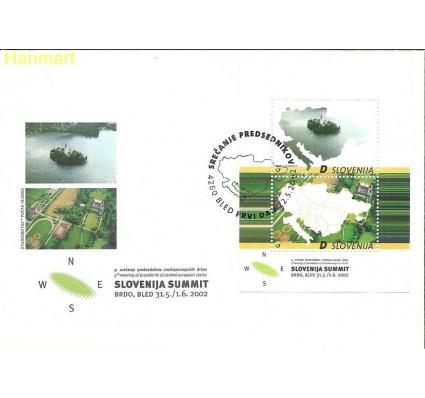 Słowenia 2002 Mi bl15 FDC