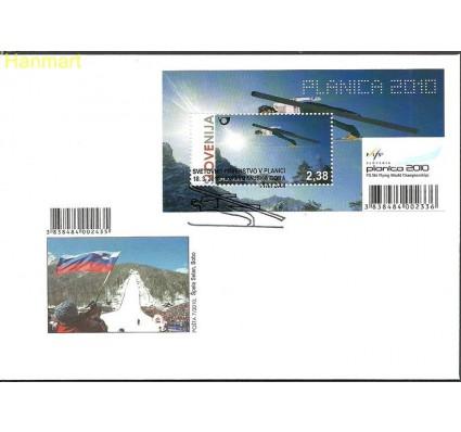 Słowenia 2010 Mi bl47 FDC
