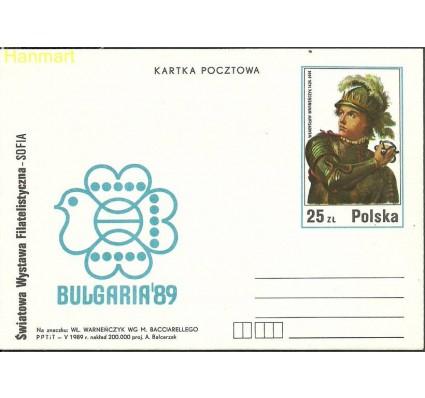 Znaczek Polska 1989 Fi Cp 995 Całostka pocztowa