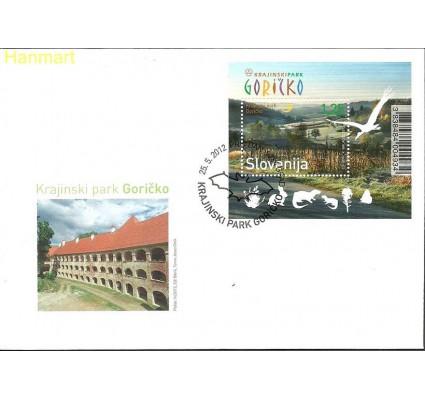 Znaczek Słowenia 2012 Mi bl62 FDC
