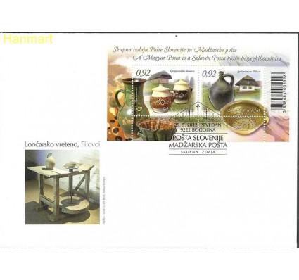 Znaczek Słowenia 2012 Mi bl63 FDC