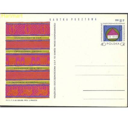Znaczek Polska 1963 Fi Cp 242 Całostka pocztowa