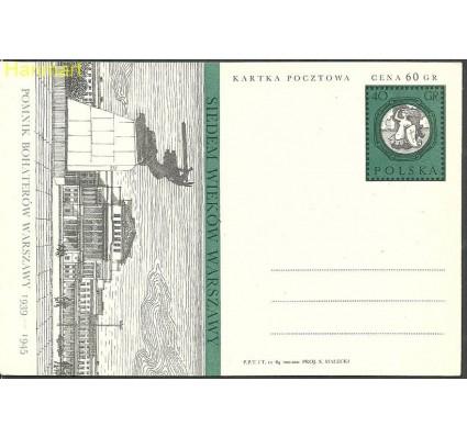 Znaczek Polska 1965 Fi Cp 269 Całostka pocztowa