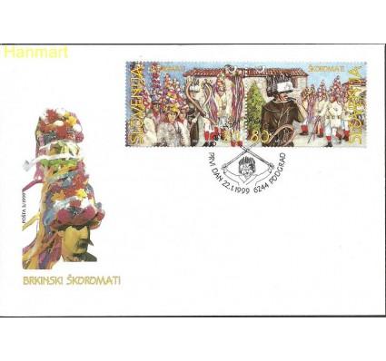 Znaczek Słowenia 1999 Mi par252-253 FDC