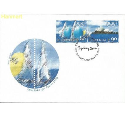Znaczek Słowenia 2000 Mi par308-309 FDC