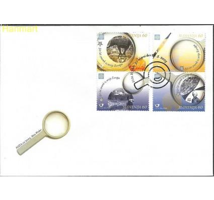 Znaczek Słowenia 2005 Mi par543-546 FDC
