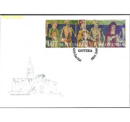 Znaczek Słowenia 2005 Mi par562-563 FDC