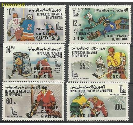 Znaczek Mauretania 1980 Mi 671-676 Czyste **