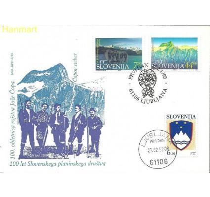Słowenia 1992-1993 Mi 9+43-44 FDC