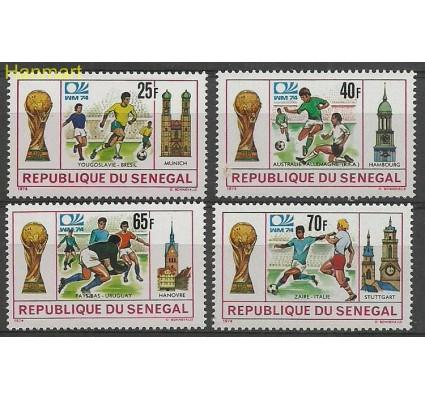 Znaczek Senegal 1974 Mi 553-556 Czyste **