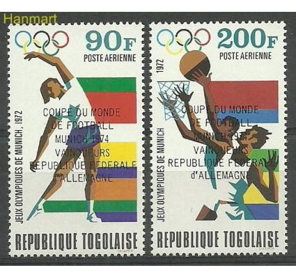 Znaczek Togo 1974 Mi 1066-1067 Czyste **