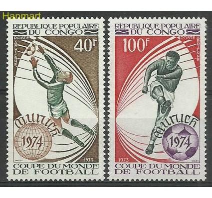 Znaczek Kongo 1973 Mi 405-406 Czyste **