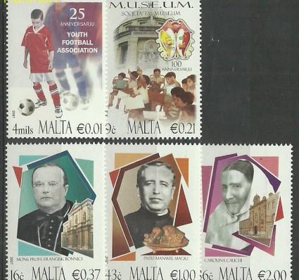Znaczek Malta 2007 Mi 1550-1554 Czyste **