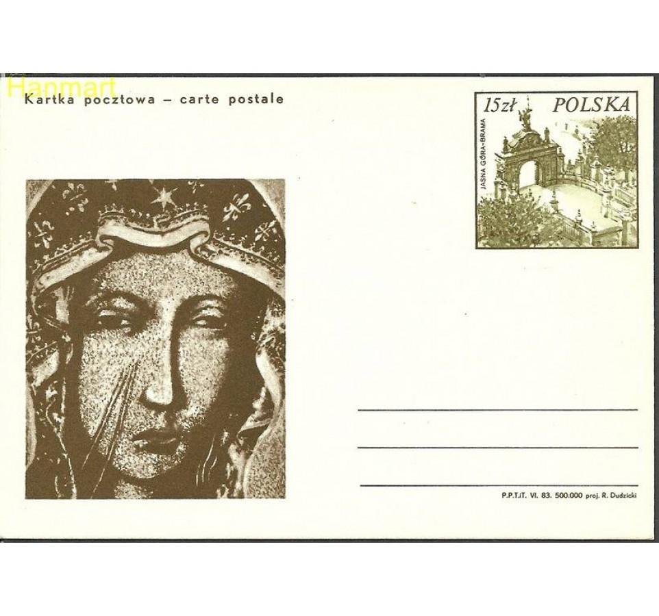 Polska 1983 Fi Cp Mi 835 Całostka pocztowa