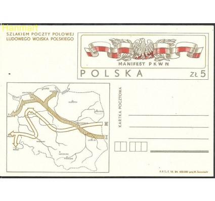 Znaczek Polska 1984 Fi Cp 872 Całostka pocztowa