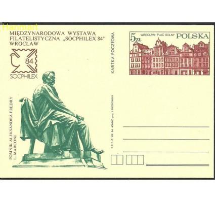 Znaczek Polska 1984 Fi Cp 883 Całostka pocztowa