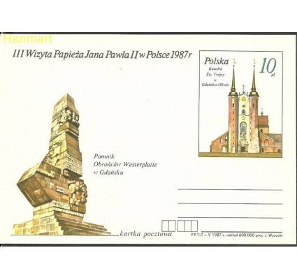 Znaczek Polska 1987 Fi Cp  955 Całostka pocztowa