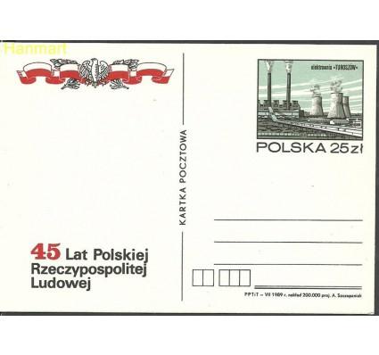 Znaczek Polska 1989 Fi Cp 1003 Całostka pocztowa