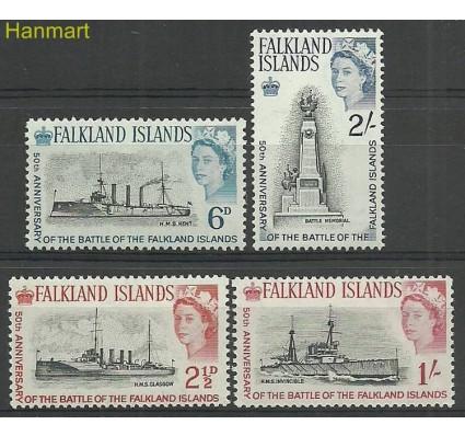 Znaczek Falklandy 1964 Mi 145-148 Czyste **