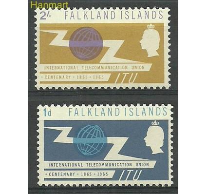 Znaczek Falklandy 1965 Mi 149-150 Czyste **