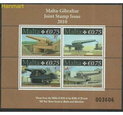 Znaczek Malta 2010 Mi bl 45 Czyste **