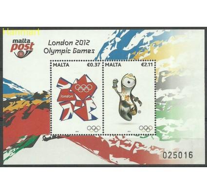 Znaczek Malta 2012 Mi bl 53 Czyste **
