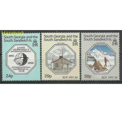 Znaczek Georgia Południowa i Sandwich Południowy 1987 Mi 165-167 Czyste **