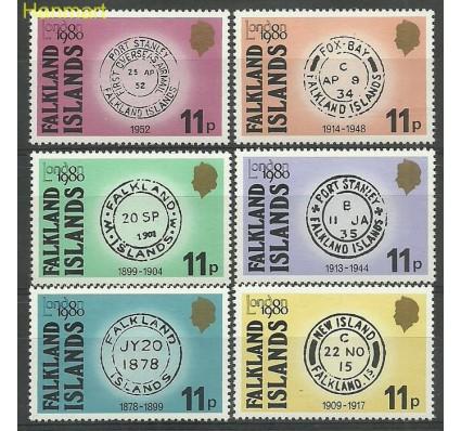 Znaczek Falklandy 1980 Mi 301-306 Czyste **